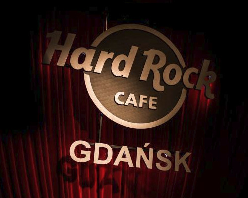 Hardrock cafe in Gdansk
