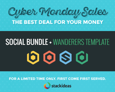 Stackideas Black Friday Discount 2015