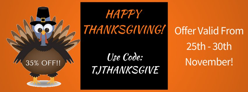 TechJoomla - ThanksGiving Day discount 2015