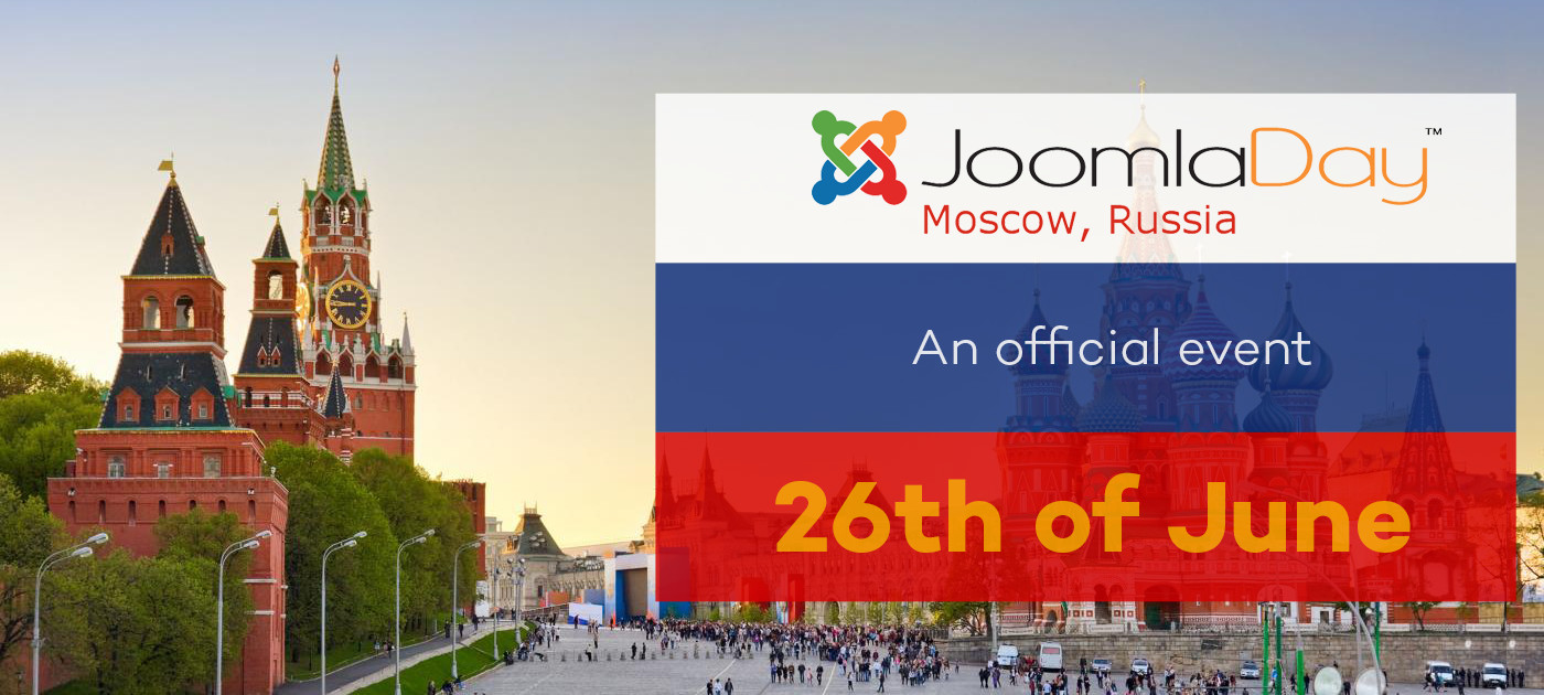 The first JoomlaDay in Russia is coming