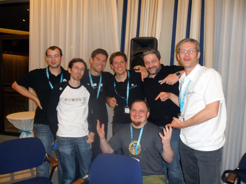 French developers Octopoos (Seblod, Acyba, Hikashop) and Eugene. Especially for Vio Cassel