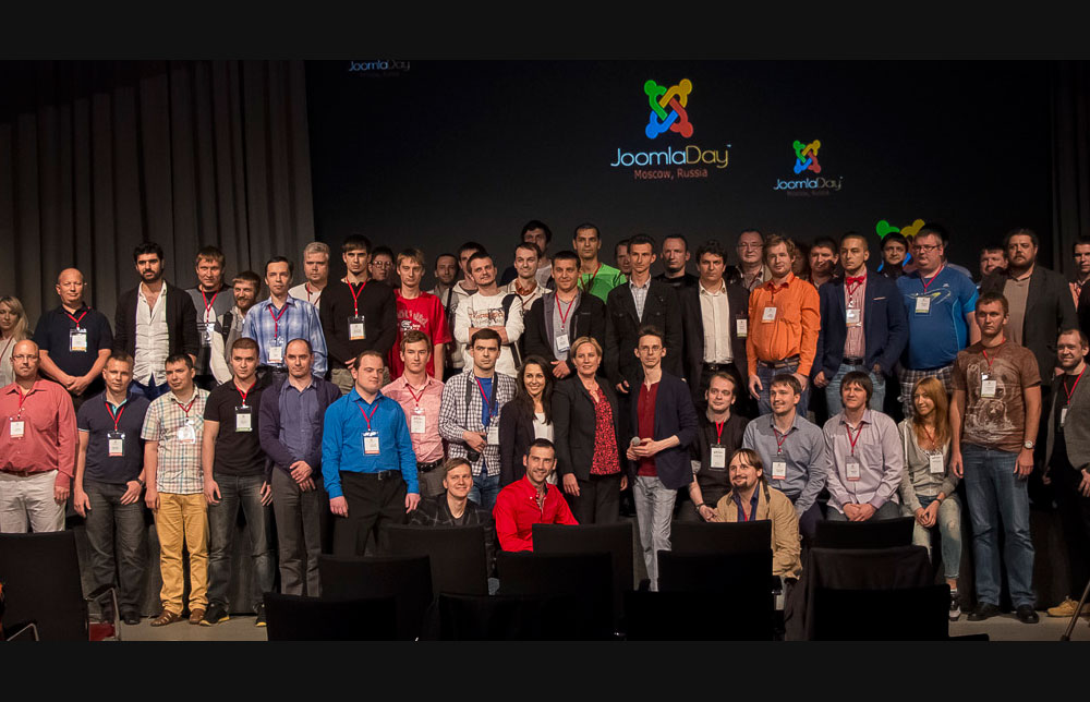 Joomla is a small family